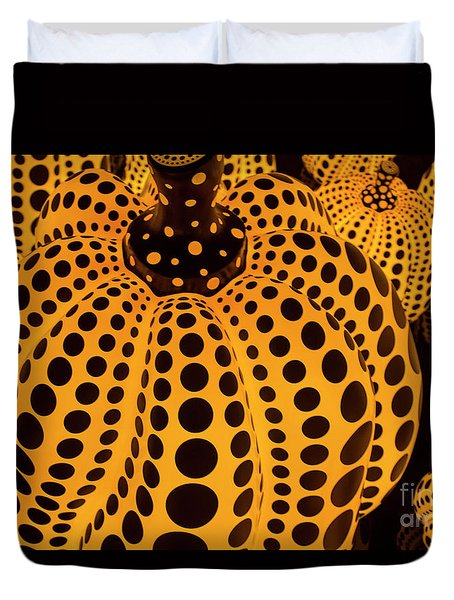 The Pumpkins Art Duvet Cover