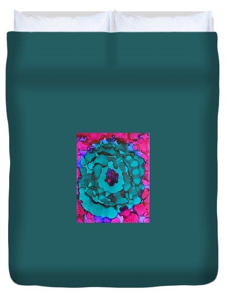The Purple Eye Duvet Cover