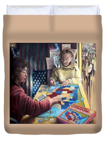 The Puzzle Duvet Cover