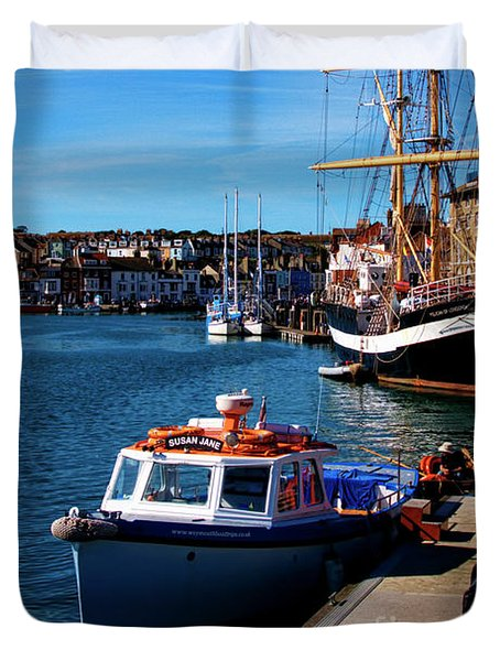 The Quayside  Duvet Cover