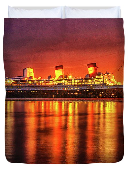 The Queen Mary Duvet Cover
