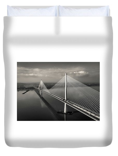 The Queensferry Crossing Duvet Cover