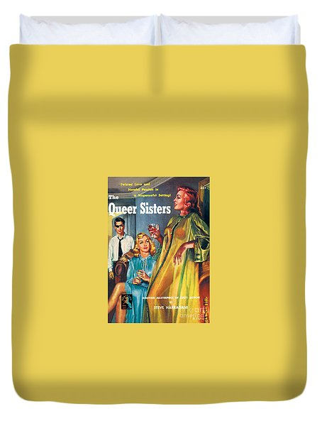 The Queer Sisters Duvet Cover