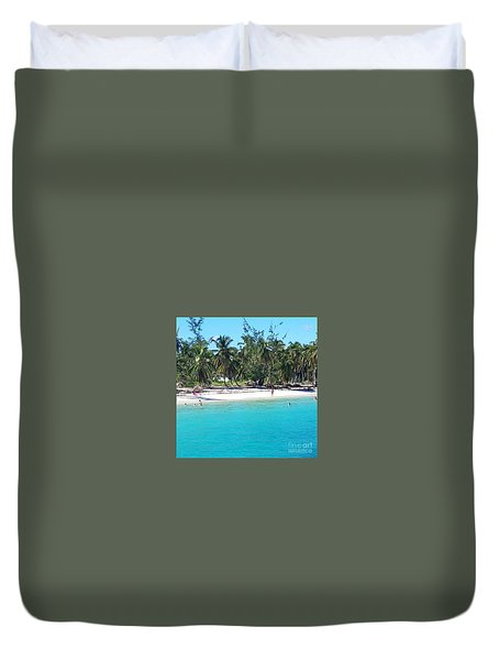 The Quiet Zone Duvet Cover