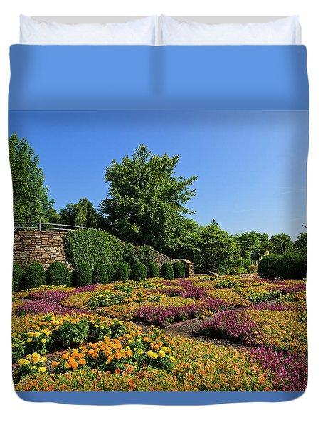 The Quilt Garden Duvet Cover