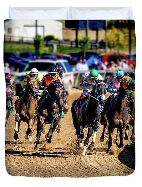 The Race Duvet Cover