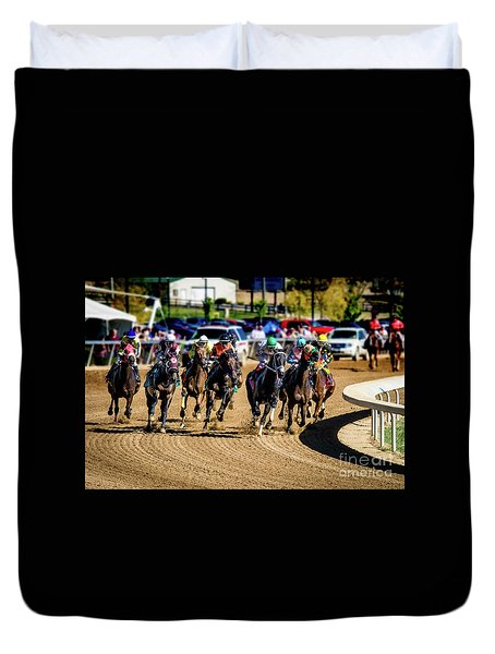 The Race Duvet Cover
