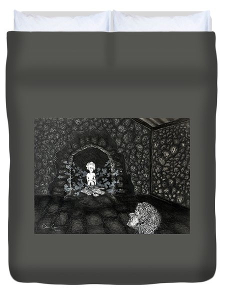 The Radiant Boy Duvet Cover