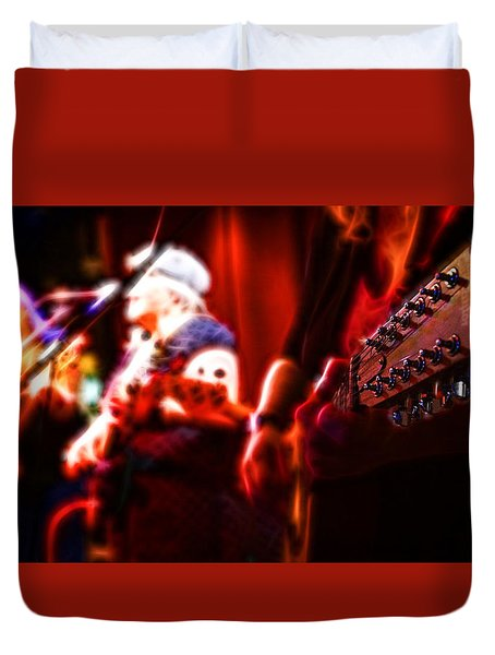 The Radiant Musicians Duvet Cover