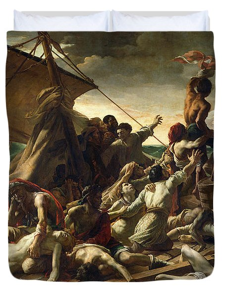 The Raft Of The Medusa Duvet Cover