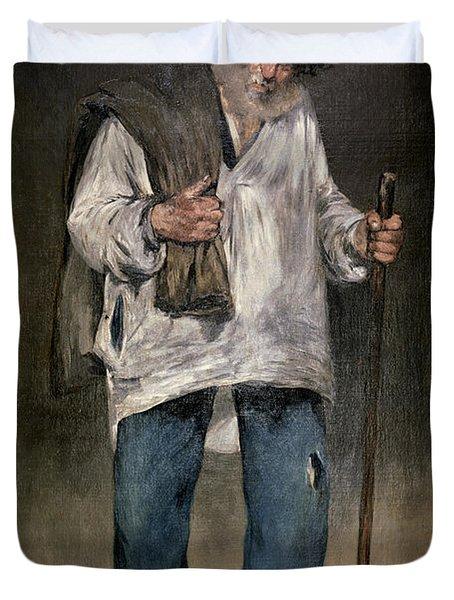 The Ragman Duvet Cover by Edouard Manet