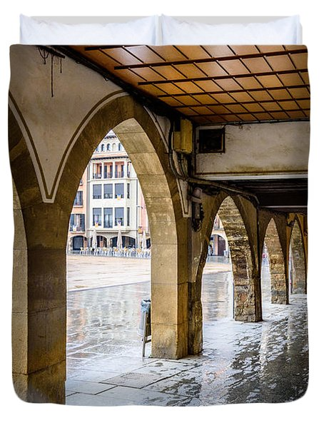 The Rain In Spain Duvet Cover