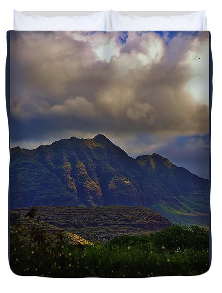 The Rain Is Clearing Up Duvet Cover by Craig Wood