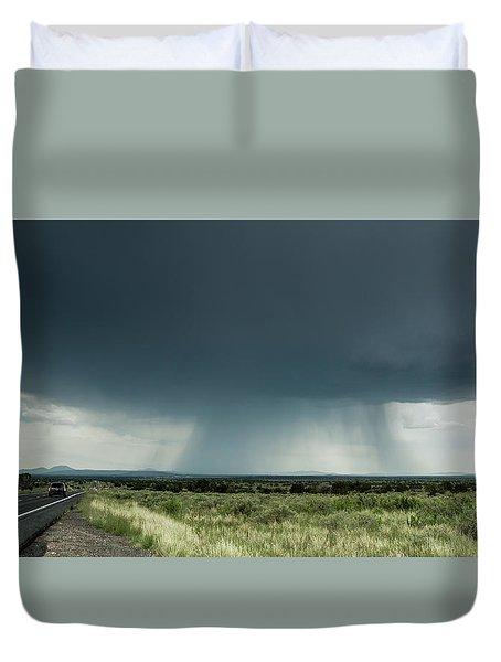 The Rain Storm Duvet Cover