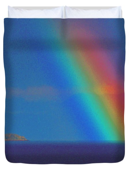 The Rainbow Duvet Cover