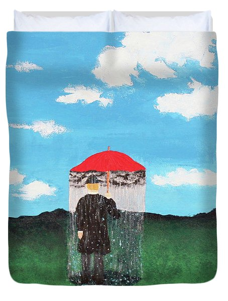 The Rainmaker Duvet Cover