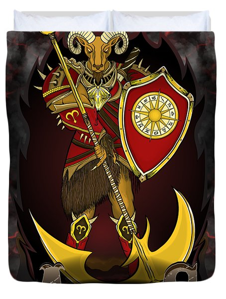 The Ram Aries Spirit Duvet Cover