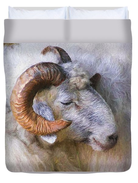 The Ram Duvet Cover