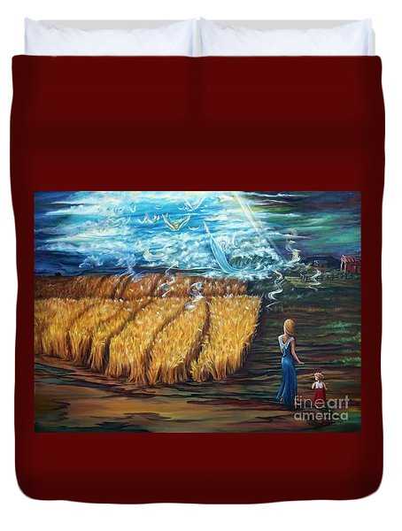 The Rapture Duvet Cover