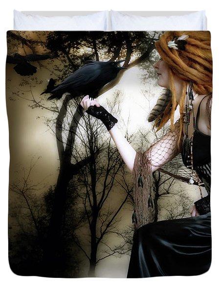 The Raven Duvet Cover