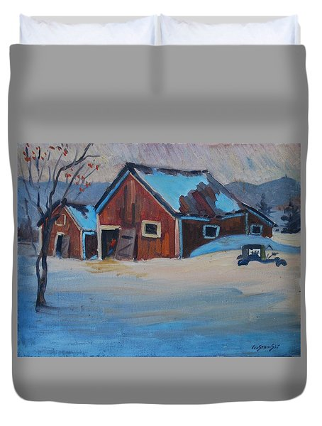 The Raymond Serre Farm Duvet Cover