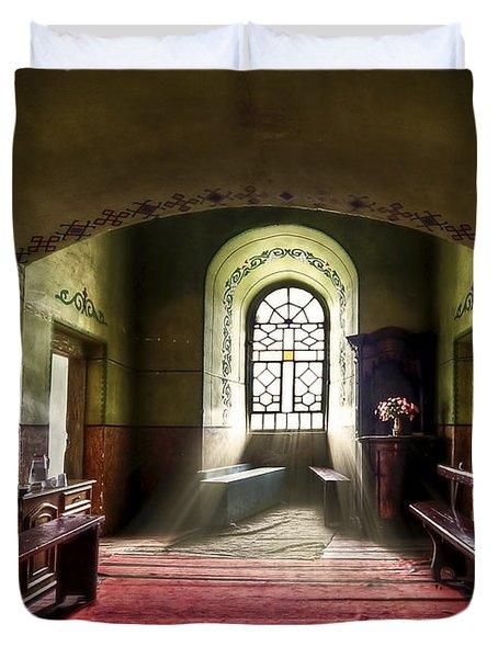 The Reading Room Duvet Cover