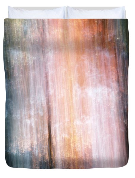 The Realm Of Light Duvet Cover by Steven Huszar