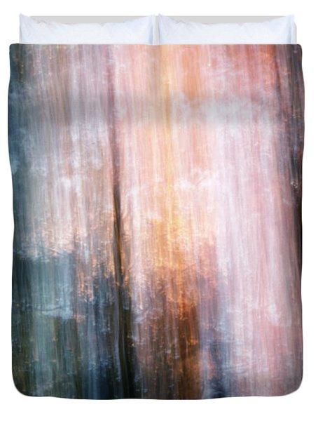 The Realm Of Light Duvet Cover