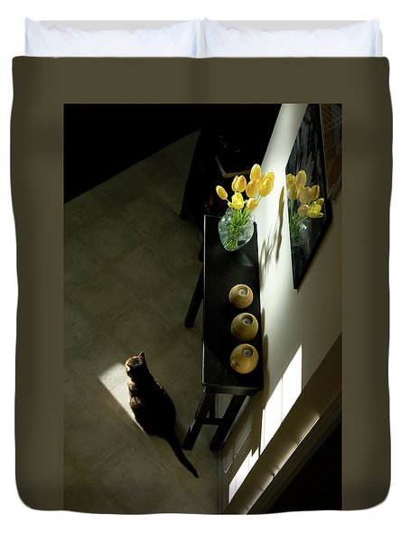 The Reception Hall Duvet Cover