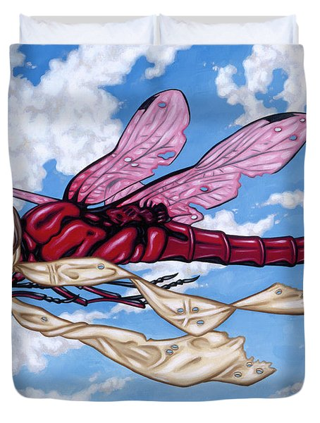The Red Baron Duvet Cover
