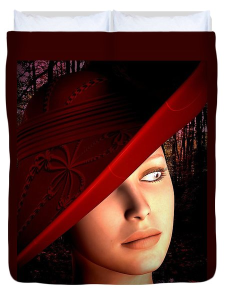 The Red Hat Duvet Cover