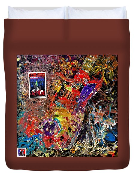 The Red Paintings Duvet Cover
