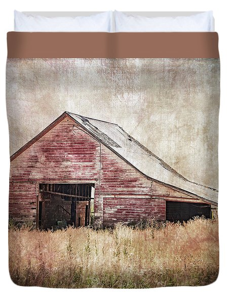 The Red Shed Duvet Cover