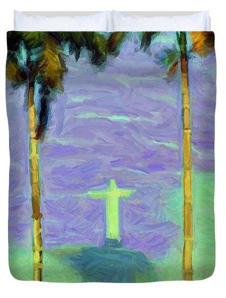 The Redeemer Duvet Cover