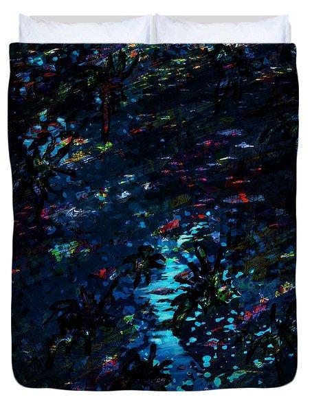 the Reef Duvet Cover by Rachel Christine Nowicki