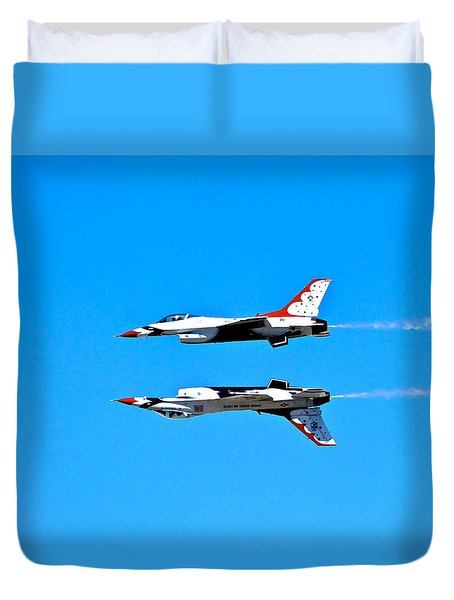 The Reflection Pass Duvet Cover