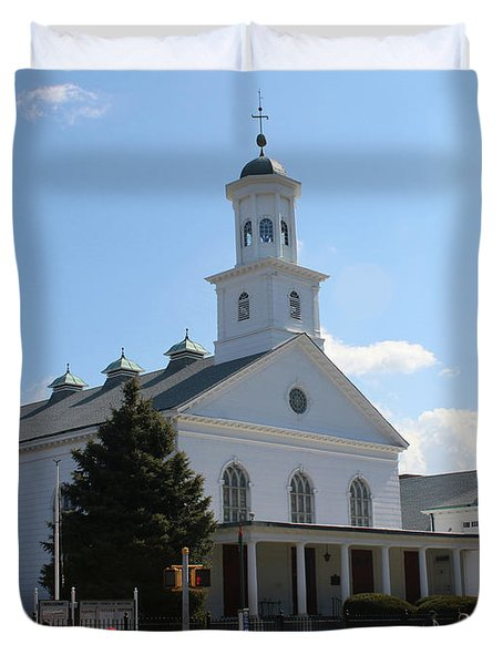 The Reformed Church Of Newtown- Duvet Cover