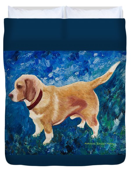 The Regal Beagle Duvet Cover