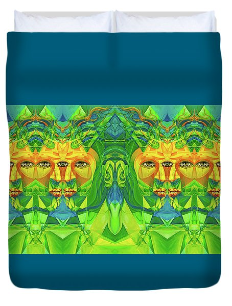 The Reinvention Reinvented 3 Duvet Cover