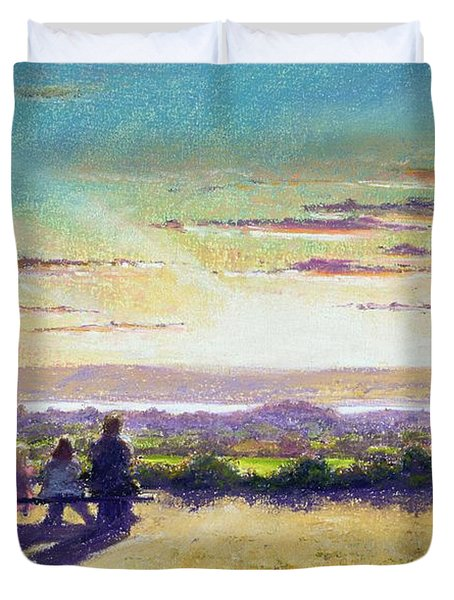 The Remains Of The Day Duvet Cover by Anthony Rule