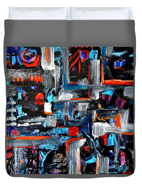 The Reprieve Duvet Cover by Expressionistart studio Priscilla Batzell