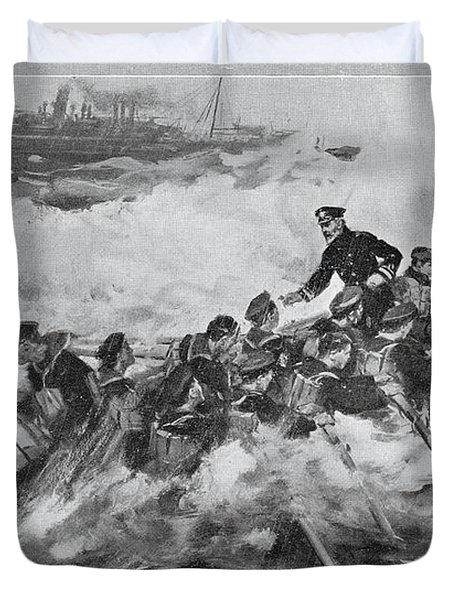 The Rescue Of The Princess Royal And Duvet Cover
