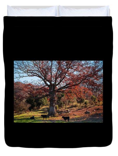The Resting Tree Duvet Cover