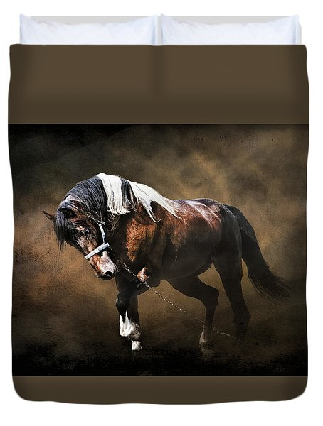 Duvet Cover featuring the photograph The Restless Gypsy by Brian Tarr