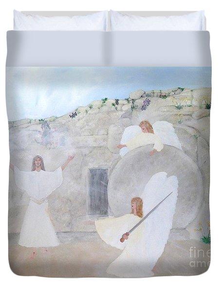 The Resurrection Duvet Cover