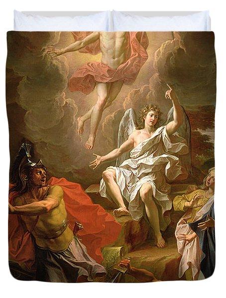 The Resurrection Of Christ Duvet Cover