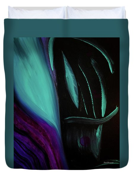 The Reveal Duvet Cover by Dick Bourgault