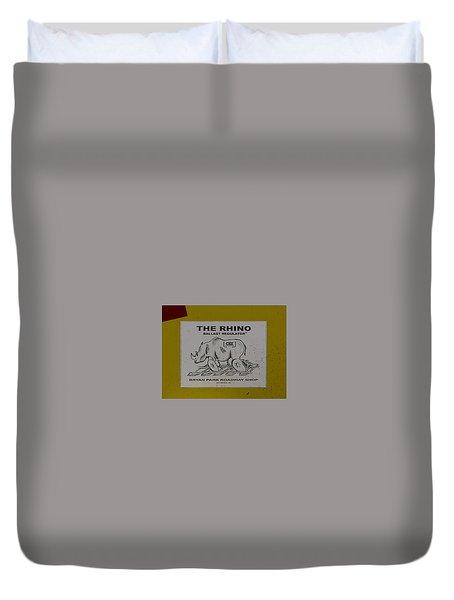 The Rhino Ballast Regulator Duvet Cover