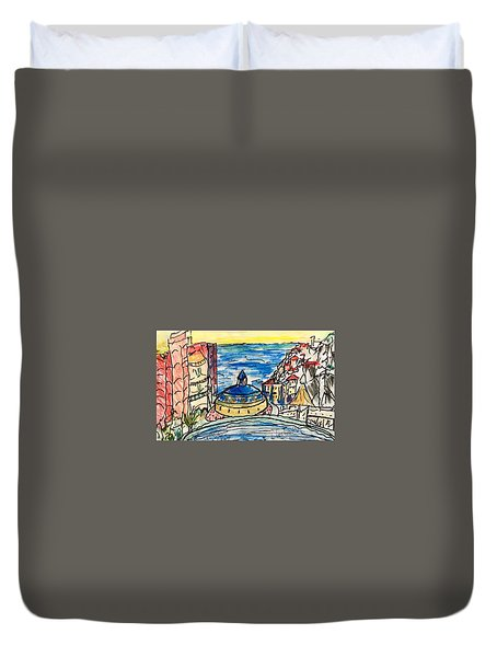 The Ridge View Cabo Duvet Cover