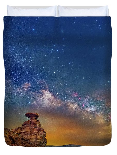 The Rift Duvet Cover